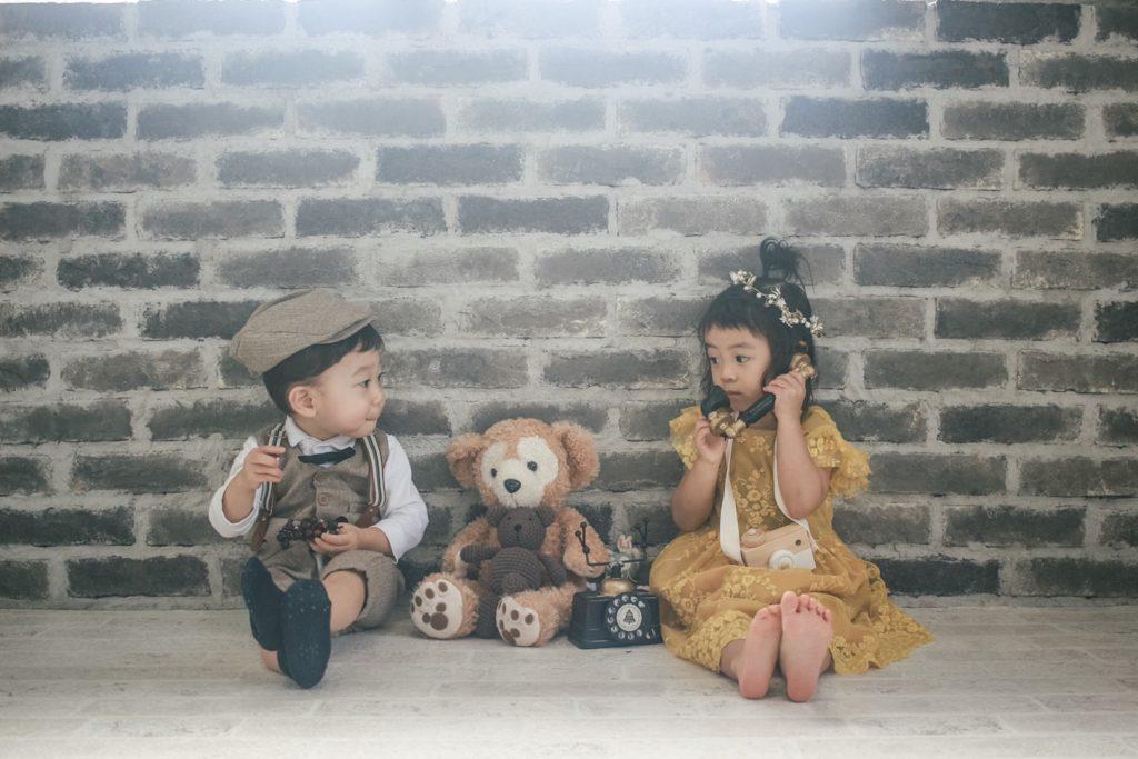 男の子 女の子 洋装